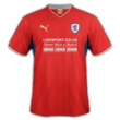 uniforme de Raith Rovers fora de casa